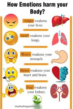 your mind with positivity and eliminate stress and anxiety How Emotions harm your body. how to reprogram your thoughts.How Emotions harm your body. how to reprogram your thoughts. Health Facts, Health And Nutrition, Health Tips, Health Fitness, Health Exercise, Health And Wellbeing, Health Benefits, Healthy Life, Healthy Living