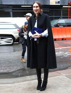 New York Fashion Week Autumn Winter 2013 Street Style | ELLE UK