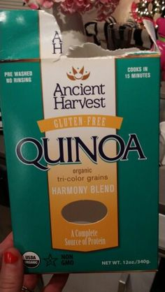 Best quinoa ever! Tri-color means more protein!   Make the Mexican bakes if you don't like the slightly bitter flavor of quinoa, the enchilada sauce completely covers it.