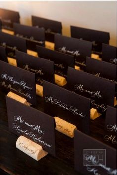 Weddings in Surrey - Wedding Table Plan Ideas