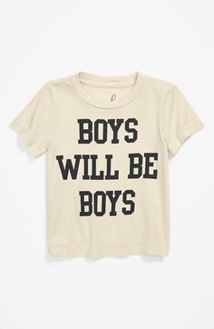 Peek 'Boys Will Be Boys' T-Shirt (Baby Boys) | Nordstrom