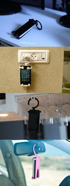 Cool Stuff We Like Here @ CoolPile.com ------- << Original Comment >> ------- Cute iPhone holder