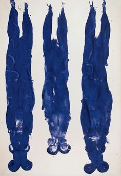 Alberto Giacometti / Yves Klein review – one master, one mad genius