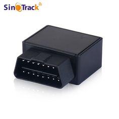 Plug Gioca Inseguitore Dei GPS Mini Auto OBD Auto GSM Vehicle Tracking dispositivo di interfaccia 16 PIN piccolo cina localizzatore gps con Software e APP