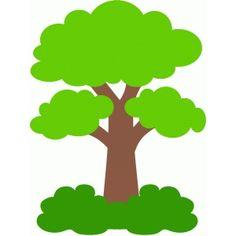 35 green tree clipart clipart panda free clipart images rh pinterest com tree clip art silhouette tree clip art images