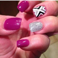 Anc purple hearts amazing nails concept anc nails ombre anc fun anc nails prinsesfo Images