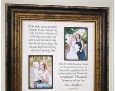 Parents Wedding Thank You Gift from Bride, Personalized Wedding Gift for Mother In Law from daughter # thank you Parenting Celebrating the Special Moments in Your LIfe by PhotoFrameOriginals Thank You Gift For Parents, Wedding Gifts For Parents, Wedding Thank You Gifts, Wedding Gifts For Groom, Personalized Wedding Gifts, Bride Gifts, Mother Of The Groom Gifts, Father Of The Bride, Cute Love Quotes For Him