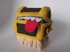 Patrón gratuito Equipaje, de Mundodisco Free pattern Luggage, from Discworld #patrongratis #patron #gratis #free #freepattern #pattern #discworld #mundodisco #TerryPratchett #amigurumi #ganchillo #crochet