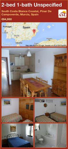 2-bed 1-bath Unspecified in South Costa Blanca   Coastal, Pinar De Campoverde, Murcia, Spain ►€84,950 #PropertyForSaleInSpain