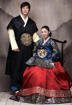 Wedding Hanbok for Bride and Groom
