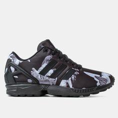 sports shoes 3f2a9 71389 Adidas Originals ZX Flux Shoes - Core Black Carbon