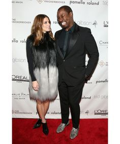 See pictures inside celebrity hairstylist Ted Gibson's star-studded 50th birthday party at the Knickerbocker Hotel rooftop in New York. Pictured here: Ashley Greene, Ted Gibson.