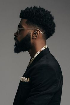 We've put together a photo gallery featuring some of the coolest hairstyles for black men. From faded hairstyles to afro hairstyles, we've got you covered! Trendy Mens Haircuts, Black Men Haircuts, Black Men Hairstyles, Afro Hairstyles, Natural Hairstyles, Hair And Beard Styles, Curly Hair Styles, Pinterest Haircuts, Black Hair Cuts