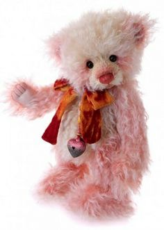 Strawberry Cheesecake Bear by Charlie Bears™