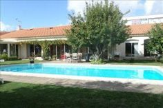 For sale in France  LES SABLES D OLONNE, Pays de la Loire €504,000 List Price $646,581 Converted Price * 1,980.6 Sq. Ft  Property Details Sands House charming, convenient bungalow, nice swimmingpool, 180 m² hab, living room, dining room. 4 bedrooms, garage 2 see, very good condition, located close to the centre and the port.