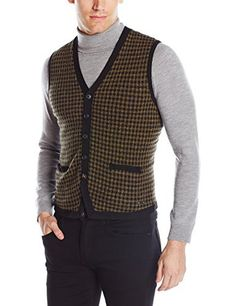"Product review for BOSS Orange Men's Aweet Light Tweed Blend Sweater Vest.  Button front sweater vest with pockets. Light tweed fabric with solid trim   	 		 			 				 					Famous Words of Inspiration...""An economist is an expert who will know tomorrow why the things he predicted yesterday didn't happen today.""					 				 				 					Laurence Peter 						—..."