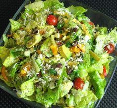 Southwestern Salad with Cilantro Lime Vinaigrette
