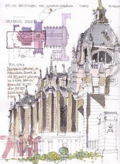 Bildergebnis für sketch journal architectural