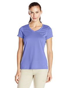 Camp Clothing - Columbia Womens Tech Trek Short Sleeve Shirt -- Want additional info? Click on the image.