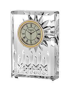 Waterford Lisdore small crystal clock