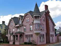 The Towers, Victorian architecture in Milford, Delaware. The idea seems to be personalised here, Victorian, but still different.