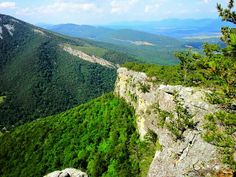 Hiking West Virginia.  north Fork Mountain Trail. Beautiful!