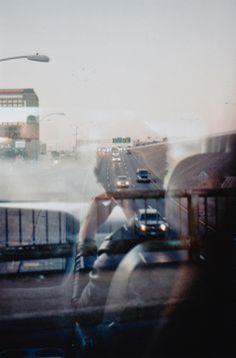 Saul  Leiter - double exposure