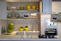 Apartamento DT: Cozinhas modernas por Amanda Carvalho - arquitetura e interiores