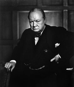 My favorite Winston Churchill Portrait by Yousuf Karsh