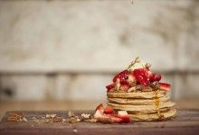 Rosewater Pikelets