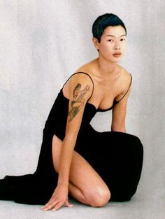 Jenny Lynn Shimizu is a Japanese American actress, model and activist. Born gangster and beautiful in San Jose, California June Jenny Shimizu, Fashion Models, Girl Fashion, Aesthetic Japan, Black Betty, Character Poses, Character Design, Japanese American, Short Hairstyles For Women