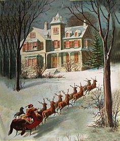 Google Image Result for http://i.ebayimg.com/t/Vintage-Victorian-Christmas-Image-Printed-onto-Fabric-Santas-Reindeer-/00/s/Mzc4WDMyMA%3D%3D/%24(KGrHqN,!nsE8VFMhw9LBPIB9(eIrg~~60_35.JPG