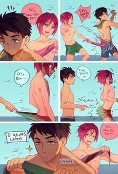 Sosuke and Rin ~ Slap!