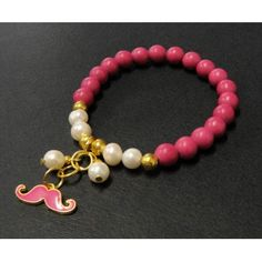 Pulsera de Moda con Perla de Río, Turquesa y Dije Mostacho Kids Jewelry, Jewelry Making Beads, Cute Jewelry, Bracelet Making, Beaded Jewelry, Jewelry Bracelets, Handmade Jewelry, Simple Bracelets, Diy Necklace