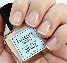 Simple but cute manicure idea! Tinted Moisturizer, Butter London, Manicures, Nails, Nail Polish, Wisdom, Beauty, Simple, Nail Salons