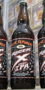 Bear Republic Brewing Co.: Racer X Double IPA (8.3% ABV) They describe this limited release as balance in a bottle and this one lives up to the label.  This is a highly enjoyable and almost playful Imperial IPA.  The hops and malts play back and forth in your mouth leaving a memorable taste with a wallup of ABV. Drink Responsibly as it goes down way to easy for a Double.