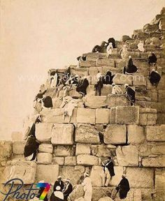 الأهرامات عام 1910