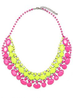 Baublebar Neon Colorblock Collar