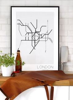 Beautiful posters of European city underground maps