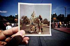 Dear Photograph,  It was forty one years ago on September 30th,1971 that I was being pushed in a stroller by my mother and my brother at Walt Disney World. My father was a member of the press, so we had access to the park the day before it officially opened on October 1st. Last year I took my daughter back to this very spot and she was the same age that I was in this photograph. That in itself really made our visit magical.  Todd