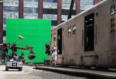"""And jumping onto the train that leads to Dauntless headquarters: 
