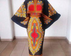 African women dashiki clothing,african print cape blouse and skirt,Ankara blouse and skirt,African w African Print Dresses, African Fashion Dresses, African Dress, Ankara Fashion, African Outfits, African Prints, African Textiles, African Attire, African Wear