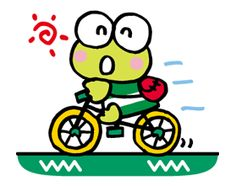 Keroppi from Donut Pond is great at swimming freestyle, but not so confident with the frog style… Nevertheless, these stickers are good for all chat styles! Keroppi Wallpaper, Sanrio Characters, Fictional Characters, Pochacco, Funny Frogs, Bullet Journal Art, Line Store, Little Twin Stars, Line Sticker