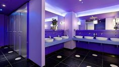 purple bathroom - Google Search