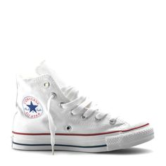 11be7557ea2 Converse Kids All Star High Canvas - Optical White Converse Schoenen,  Schoenen Sneakers