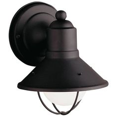 Breakwater Bay Lazarette 1 Light Outdoor Wall Lantern & Reviews | Wayfair