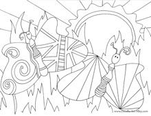 several greeting card coloring designs and free downloads