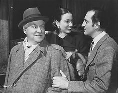 Nigel Bruce, Patricia Morison and Basil Rathbone in DRESSED TO KILL 1946