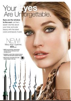 Are your eyes unforgettable? Eyes are the window to the soul. Mary Kay eyeliner makes the difference.  www.marykay.com/mimasmith