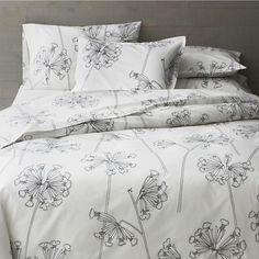 Crate & Barrel Marimekko Kevatesikko Full Queen Duvet Cover Floral Black and White Marimekko,http://www.amazon.com/dp/B00HRZSVFC/ref=cm_sw_r_pi_dp_Tf21sb19JW8SQTP7